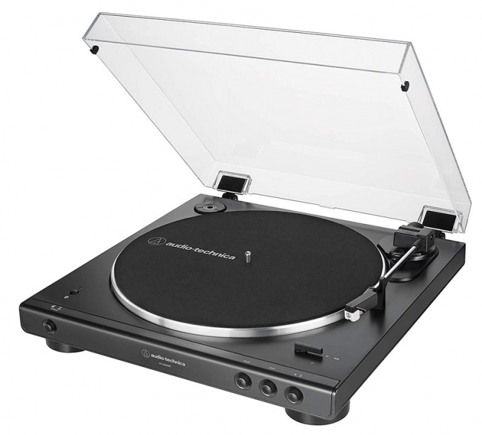 Audio Technica: AT-LP60XBT-BK Automatic Bluetooth Turntable