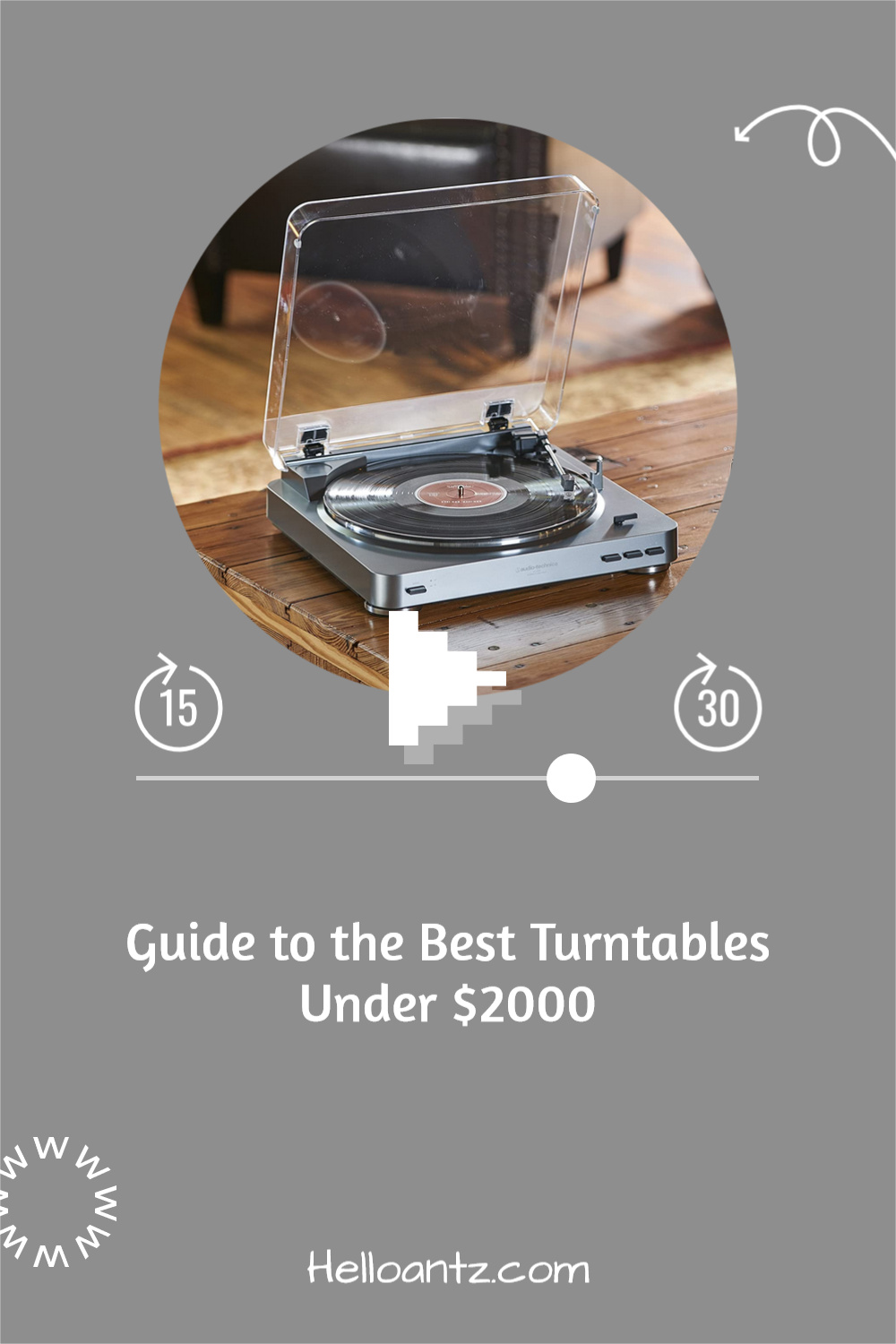Guide to the Best Turntables Under 00