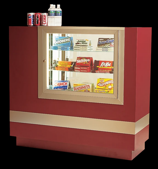 Concession Stand With Candy Case