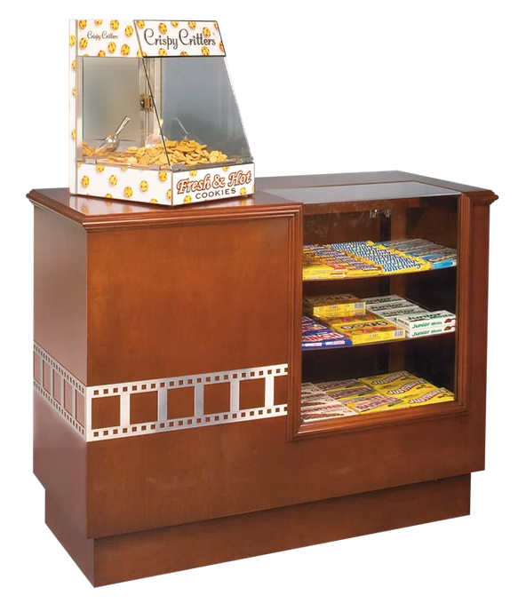 Wood Concession Stand